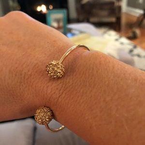 Rose colored gold adjustable bracelet